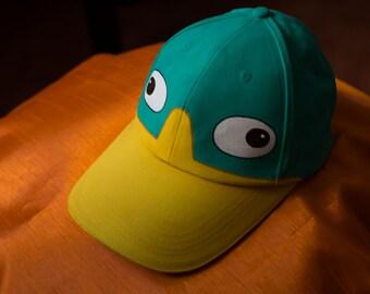 Gorra de Perry el Ornitorrinco / Perry the Platypus 's cap. Phineas & Ferb.