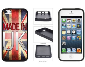 Made In UK Phone Case - iPhone 4 4s 5 5s 5c 6 6 Plus 7 iPod Touch