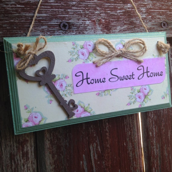 Home sweet home wall decor houseware sign Home sweet home wall decor