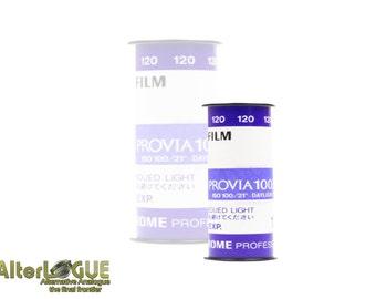 Fuji Provia 100f - 120 film professional color slide film -  Fresh film