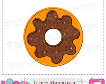 Donut Applique,Donut embroidery,Donut design,Food design,Food embroidery,Food applique,Donut,Embroidery Machine.