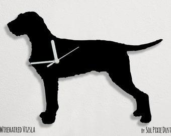 Wirehaired Vizsla  Dog - Wall Clock