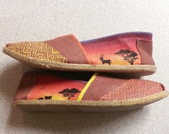 African Tribal Shoes