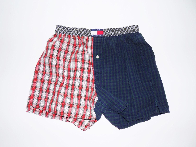 vintage tommy hilfiger boxer shorts 26 28 haute juice. Black Bedroom Furniture Sets. Home Design Ideas