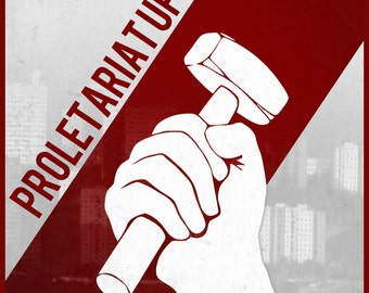 Proletariat Uprising Revolution Politics Communist Tshirt