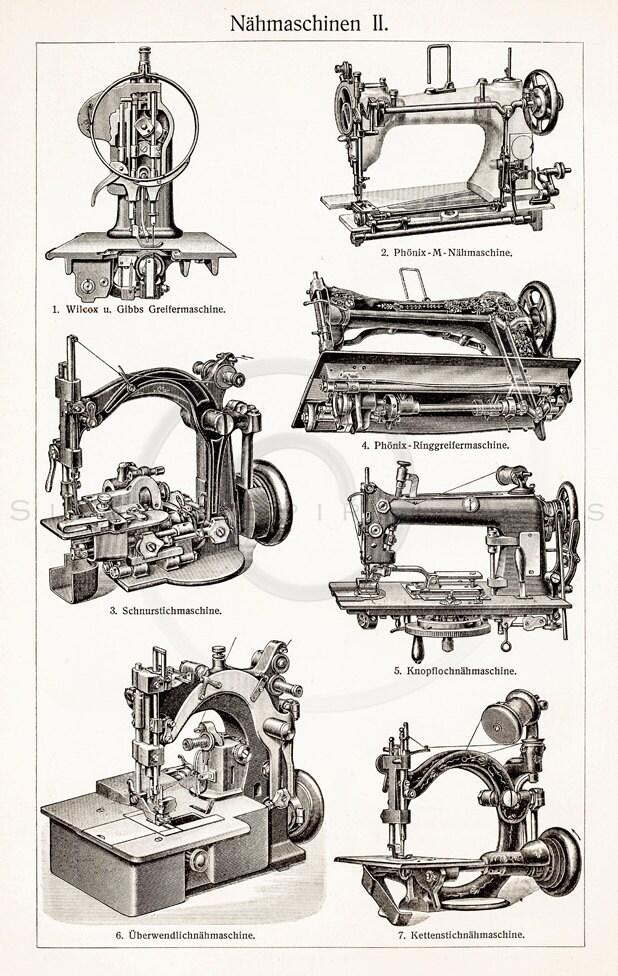 sewing machine 1800s