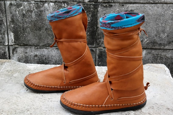 moccasins leather boots indian moccasins leather moccasins