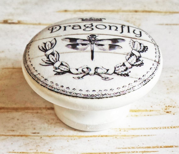 On Sale Dragonfly Knobs Drawer Pulls Classic Black By