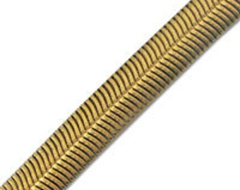 12mm Flat Snake Chain (1 Foot)
