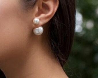 12mm Cream Pearl Clutch (12 pair)