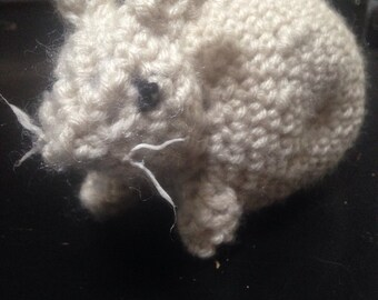 Cute Chubby Rabbit Plush