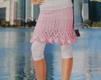 Handmade crochet skirt, crochet dress,  summer skirt, women crochet clothes MADE TO ORDER