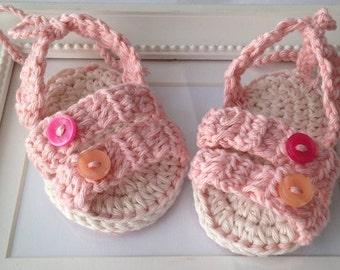 CROCHET PATTERN,crochet baby sandals pattern, crochet baby booties, crochet pattern no.36