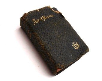 1912 Key of Heaven Devotions and Instructions for the use of Catholics Religious Book Shealy Mayne Vintage Religion
