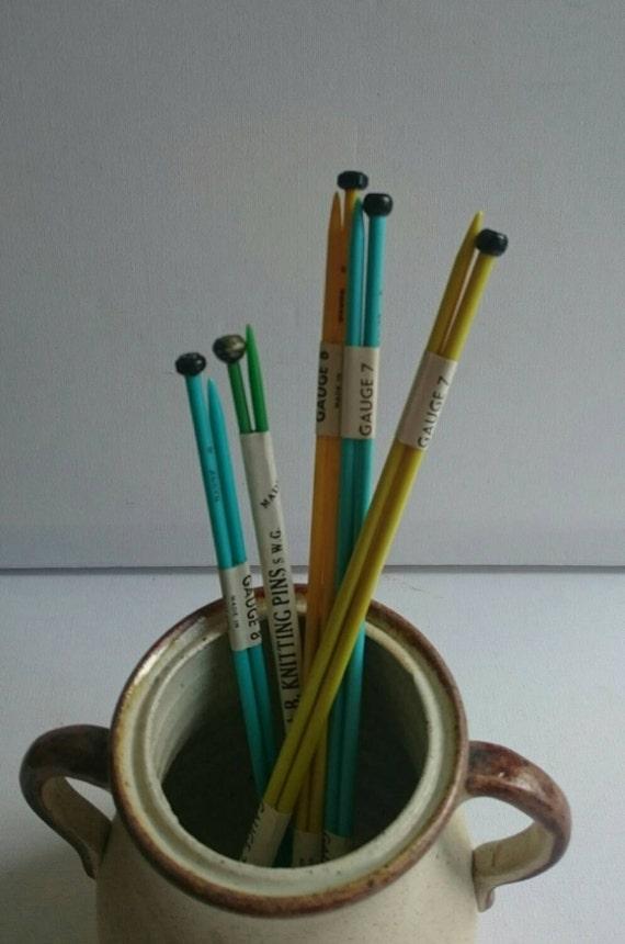 Vintage Knitting Needles : Five sets of vintage knitting needles by michaelmasdaisy