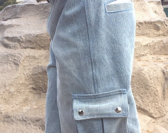Noisy Dirt Cargo Shorts PDF Pattern and tutorial - sizes 3m - 8 - Boys (and girls)
