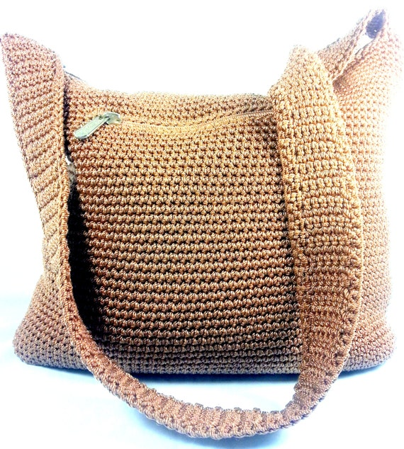The Sak Bags Crochet : Items similar to The SAK - Crochet Shoulder Bag on Etsy