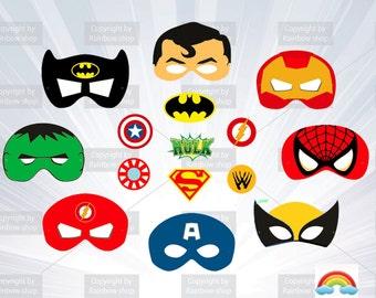 super hero Mask - Party - birthday