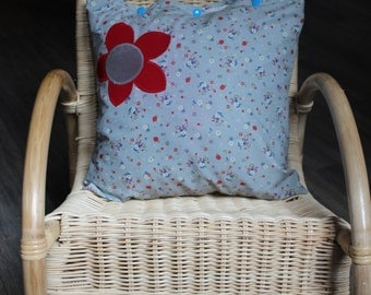 "Cushion ""Flowers of Marcel"""