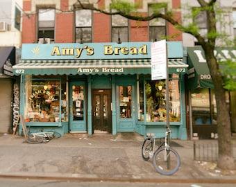 New York Photography, Amy's Bread, NYC, New York Bakery, Shop, Kitchen Decor, Home Decor, Wall Art