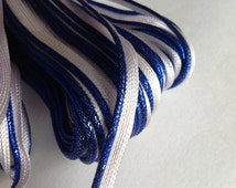25 yards navy blue  Welting Cord, Welting Cord, ready to sew Welting cord, piping trim,edge finishing trim,indian gotta patti ,piping cord,