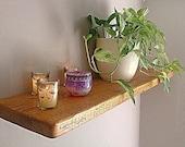 Floating Shelves Wooden Shelving Wall Shelf  Antique Pine   FREE UK DELIVERY