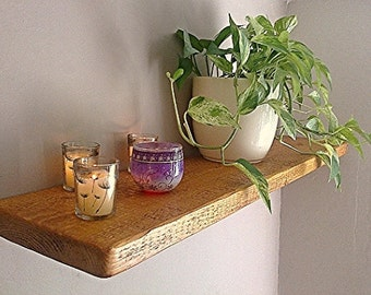Floating Shelves, Wooden Shelving, Wall Shelf - Antique Pine - ** FREE UK DELIVERY **