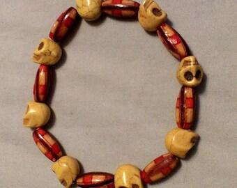 Stretchy Skull Bracelet