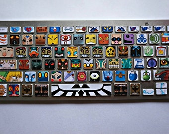 Legend of Zelda: Villains keyboard decal (for Apple Mac)