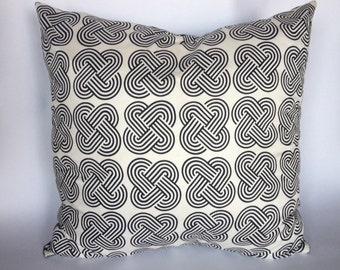 Vintage Vera Silk Scarf Pillow Cover