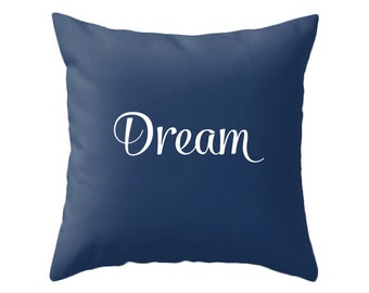 Dream pillow Dream cushion Indigo blue gradient pillow Indigo blue pillow Indigo blue ombre pillow Indigo blue cushion pillow