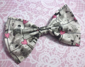 Shoujo Manga Hair Bow