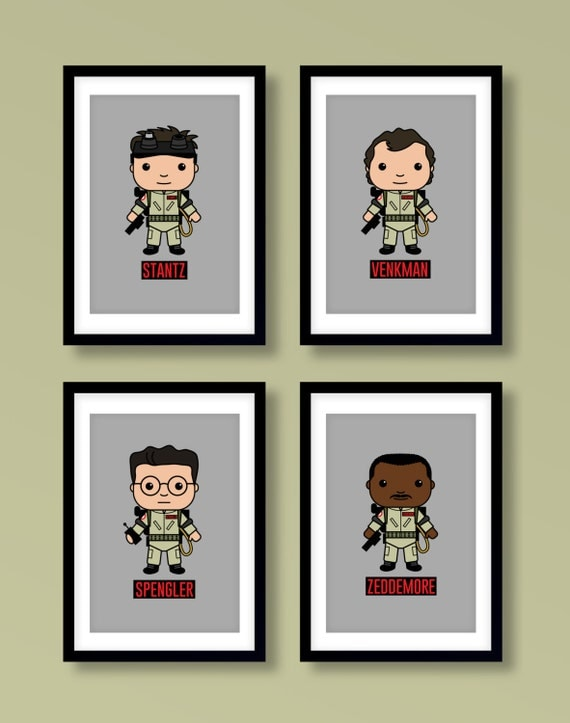 Ghostbusters inspired wall art, Ghostbusters, Bill Murray, Dan Aykroyd, Ghostbusters poster,Ghostbusters print, Ghostbusters art, Geek art