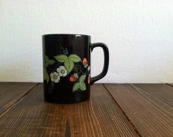 Vintage Otagiri Strawberry Mug