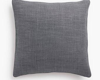 Belgian Linen Pillow Cover Decorative Pillow Covers & Modern Pillows Accent pillow pillow cover 20x20 pillow cover 18x18 lumbar pillow