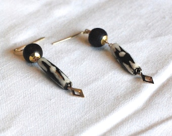 NDINOKUDA Unique Handmade Earrings Using Vintage Beads and Charms