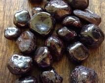 Garnet Crystal Healing Stones Light Hope Dreams Goals Wicca Reiki Chakra Zen New Age Got Rockz