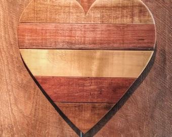Simple Rustic Heart Wall Art