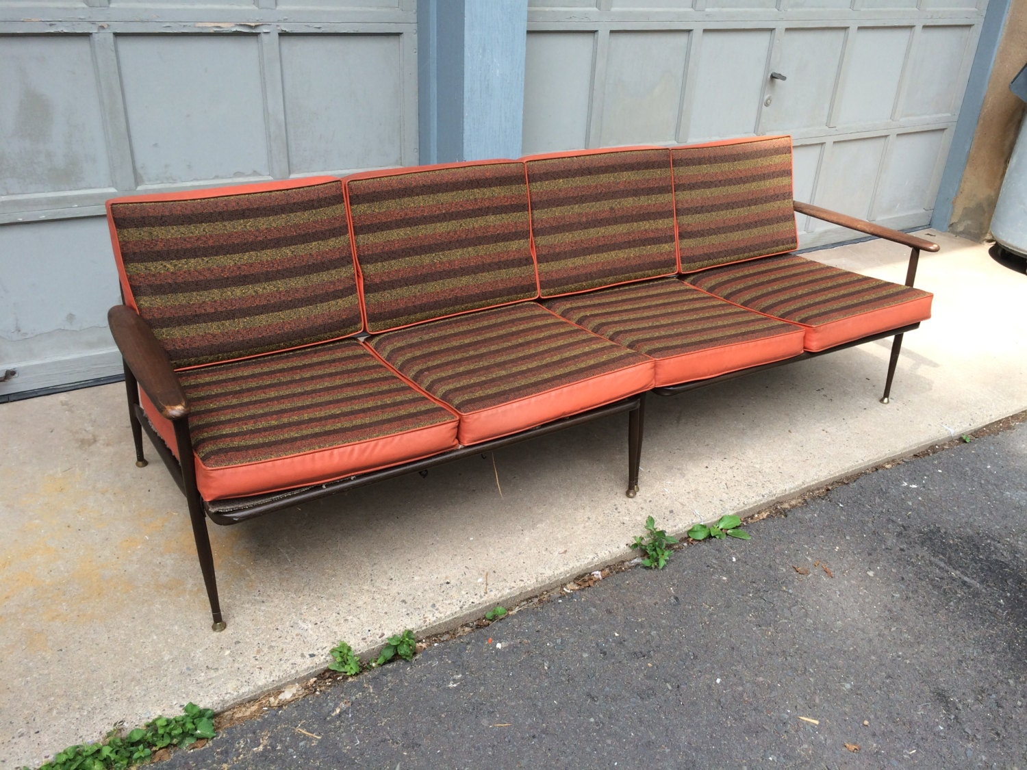 Viko Baumritter Style Sectional Couch Haute Juice