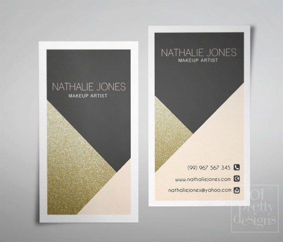 Golden business card template geometrical business card design gold il570xn fbccfo Image collections