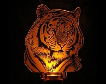Tiger Night Light LED Sensor