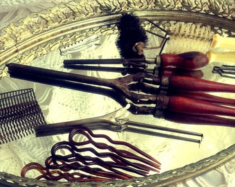 Vintage Hair Styling Set 13 Pieces