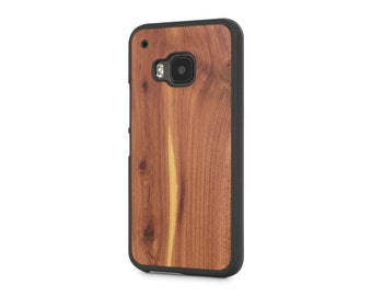 HTC One (M9) #WoodBack Real Wood Case - Cedar (FREE and Fast Delivery)