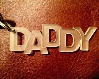 Daddy Keyring Acrylic
