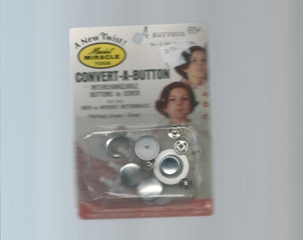 Unopened Package Convert A Button Cover Kit