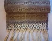 LOVE Black - Mexican Cotton Rebozo