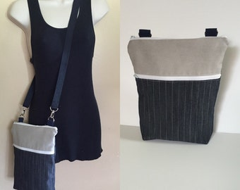 Sale***Denim, adjustable Crossbody/sling/hobo/shoulder bag
