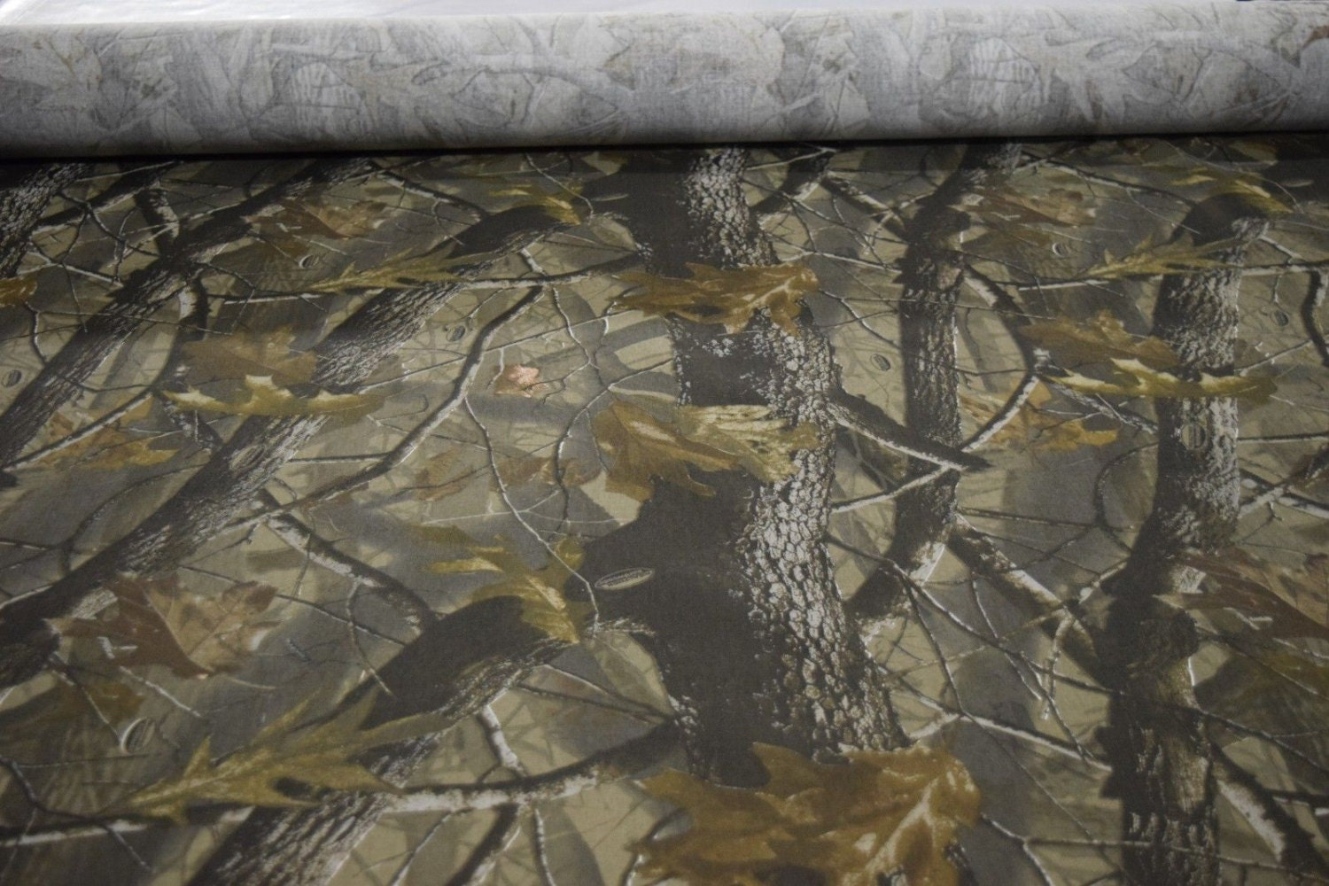 Realtree hardwoods hunting camouflage fabric poly cotton twill