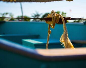 Can't Tie Me Down 6x12 Photograph Nautical Rhode Island Summer Sailing