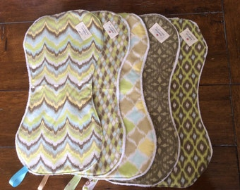 Baby Burp wipes, Burp Cloths,Cotton Burp Wipes and Chenille